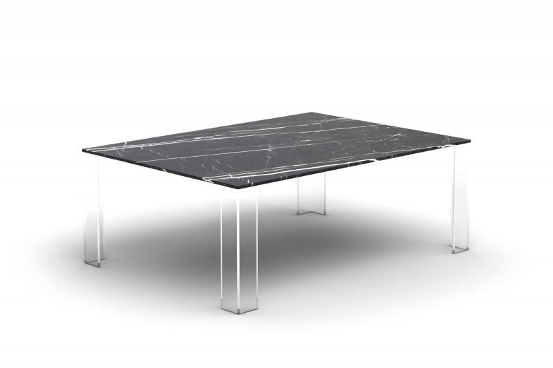 smponia mono rocks marble table